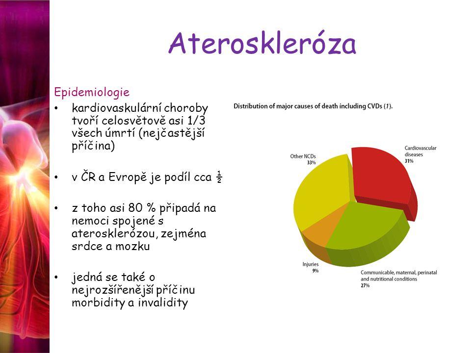 Ateroskleróza Epidemiologie