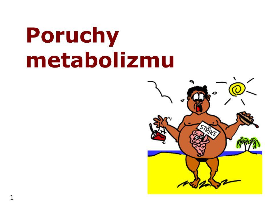 Poruchy metabolizmu