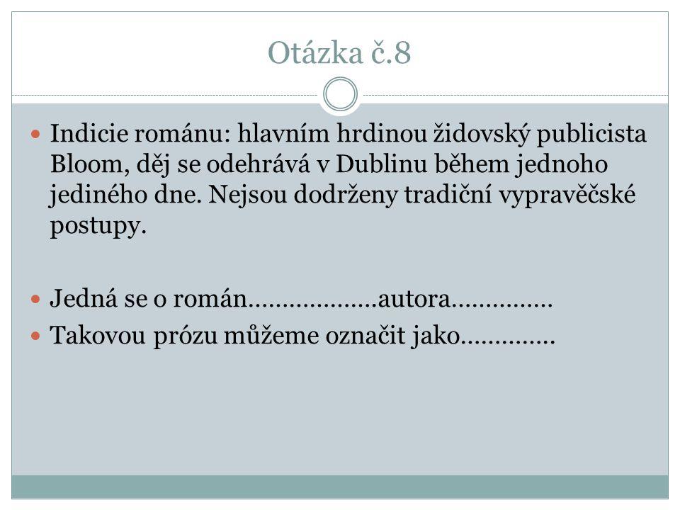 Otázka č.8