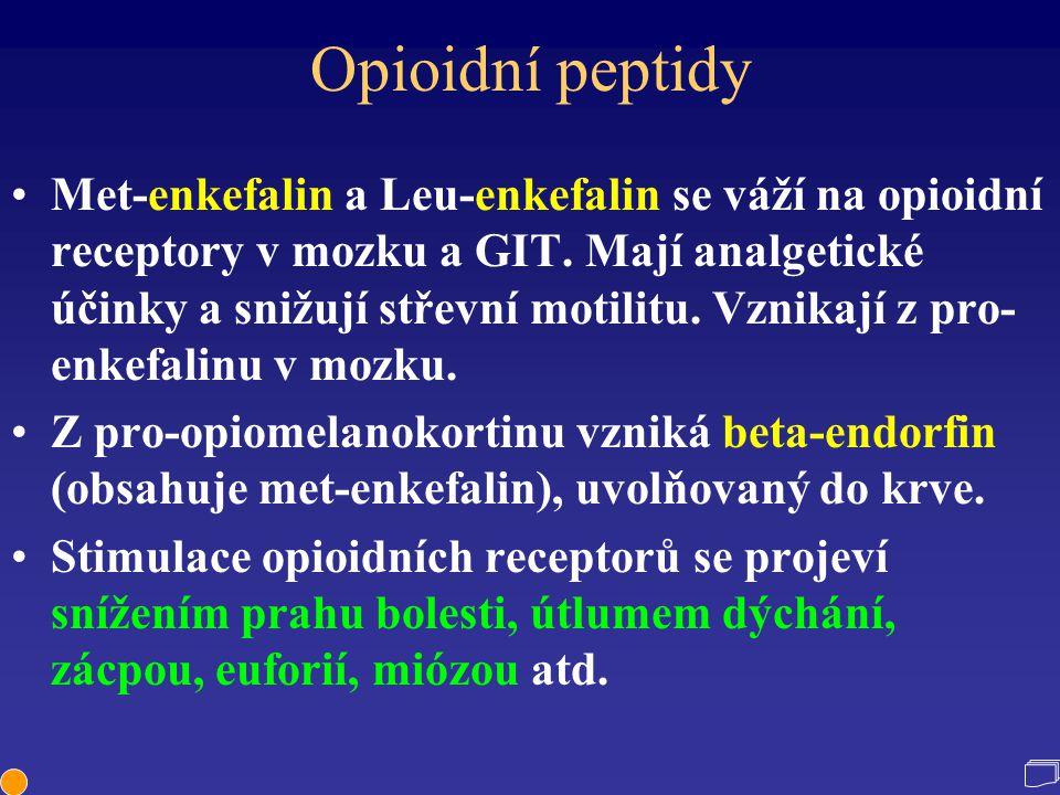 Opioidní peptidy