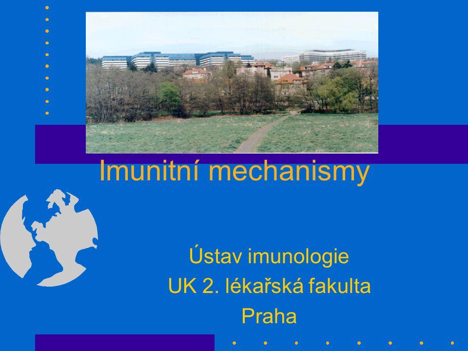 Ústav imunologie UK 2. lékařská fakulta Praha