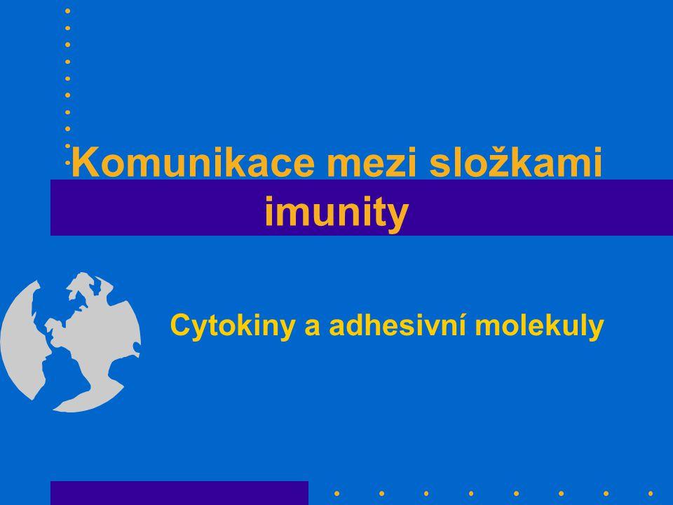 Komunikace mezi složkami imunity
