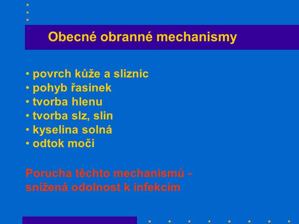 Obecné obranné mechanismy