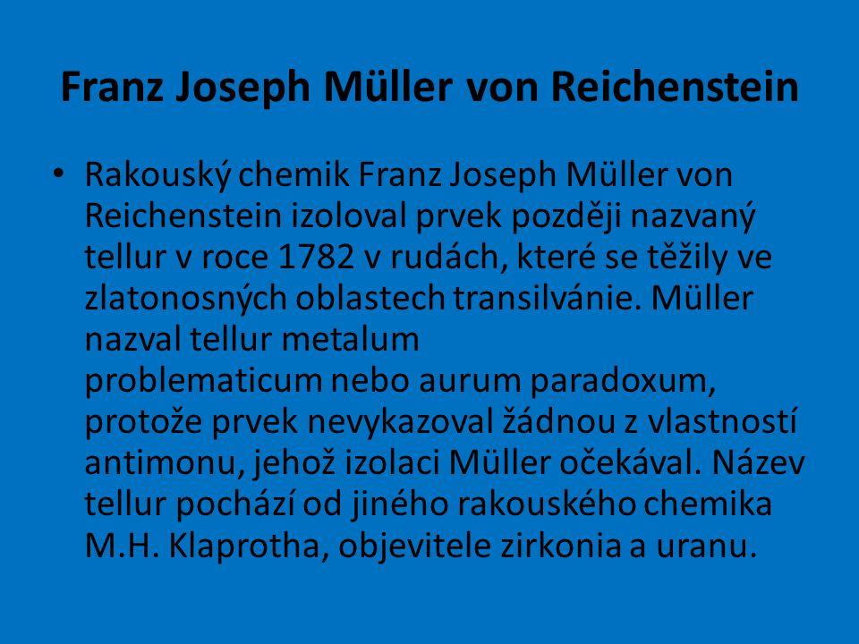 Franz Joseph Müller von Reichenstein