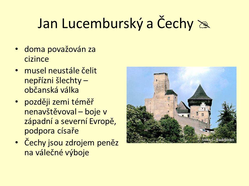 Jan Lucemburský a Čechy 