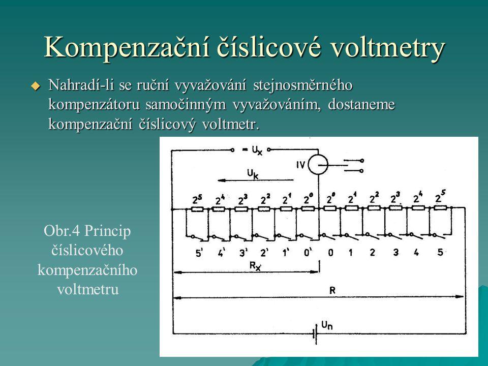 Kompenzační číslicové voltmetry
