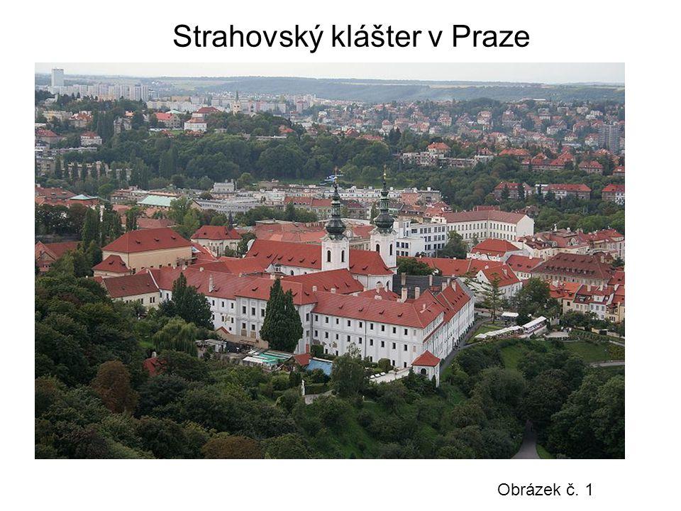 Strahovský klášter v Praze