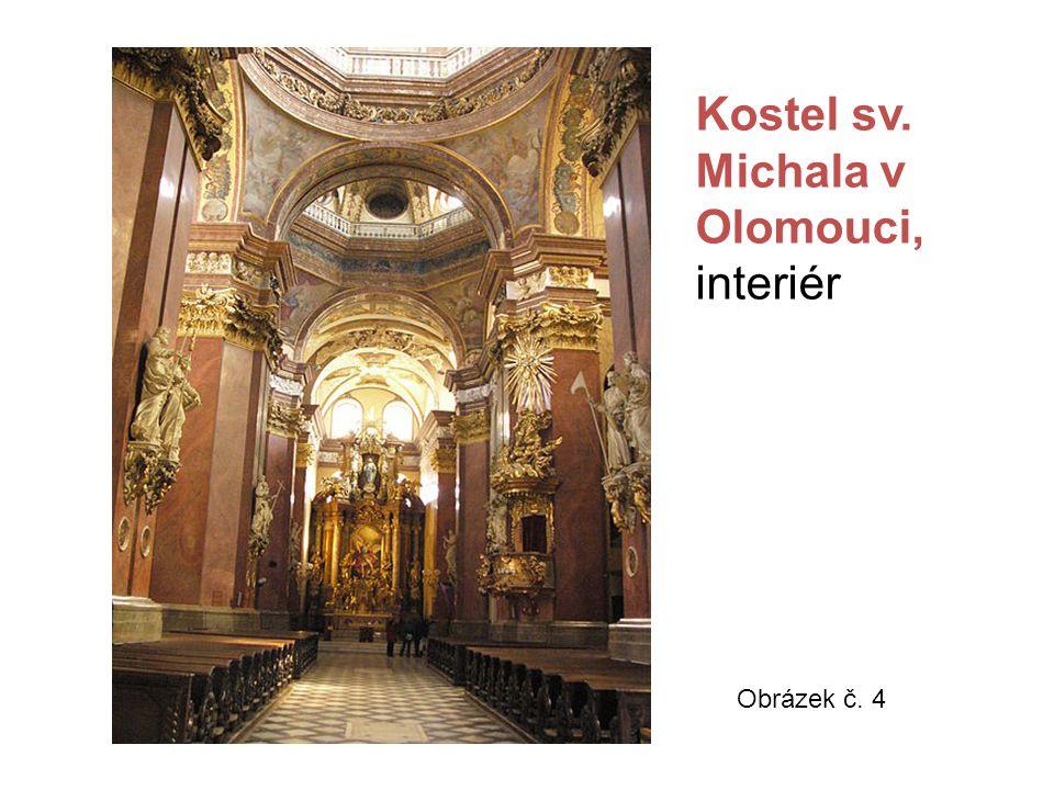 Kostel sv. Michala v Olomouci, interiér