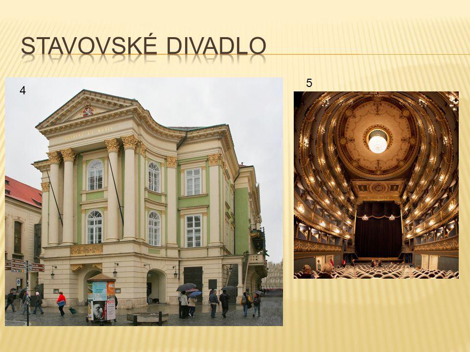 Stavovské divadlo 5 4
