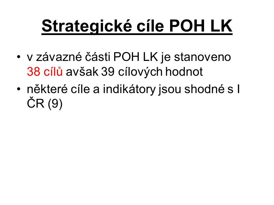 Strategické cíle POH LK