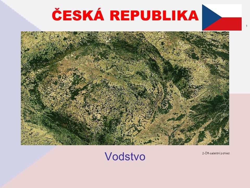 ČESKÁ REPUBLIKA 1 Vodstvo 2-ČR-satelitní pohled