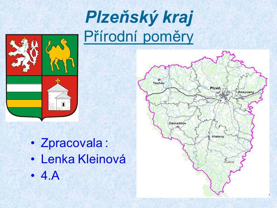 Plzeňský kraj Přírodní poměry