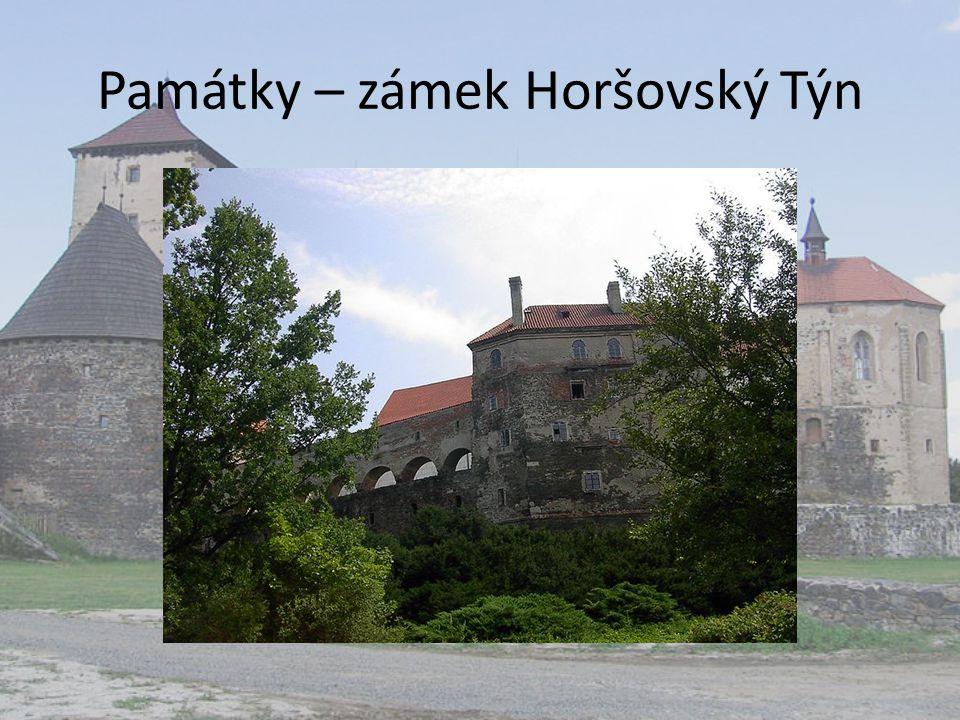 Památky – zámek Horšovský Týn
