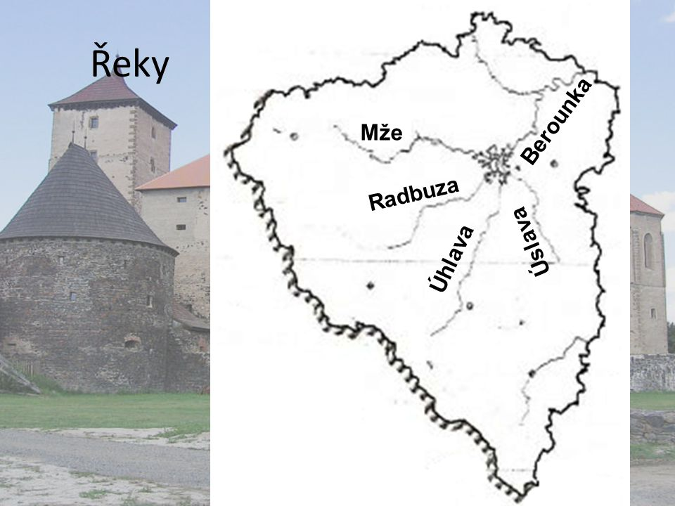 Řeky Berounka Mže Radbuza Úslava Úhlava