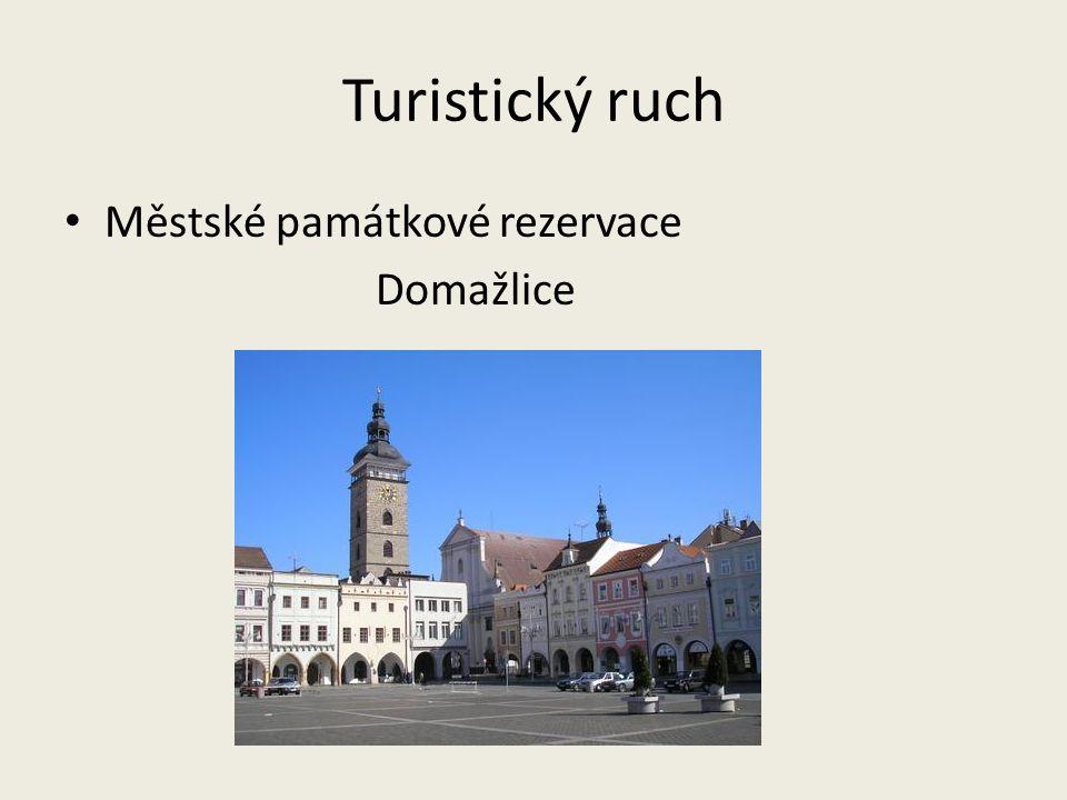 Turistický ruch Městské památkové rezervace Domažlice