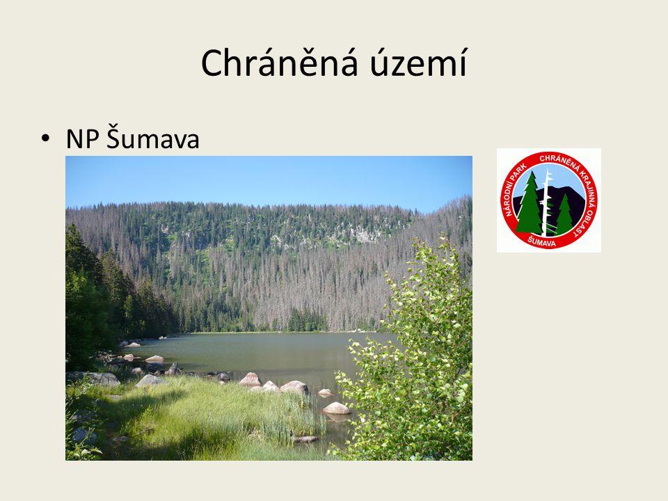 Chráněná území NP Šumava