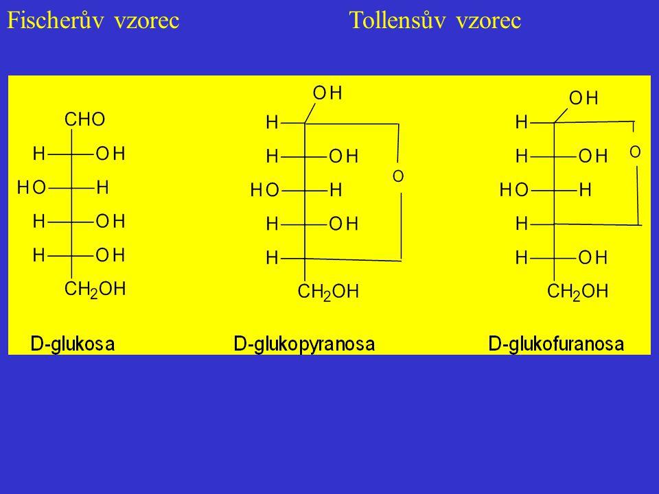 Fischerův vzorec Tollensův vzorec