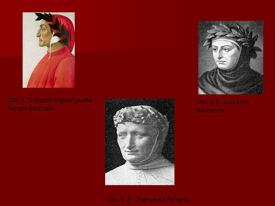 Obr. č. 7- Dante Aligheri podle Sandra Botticelli