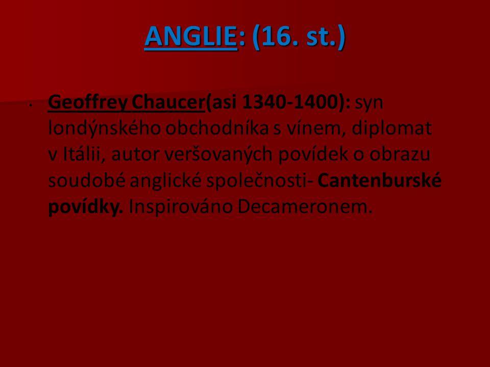 ANGLIE: (16. st.)