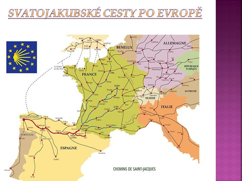 Svatojakubské cesty po Evropě