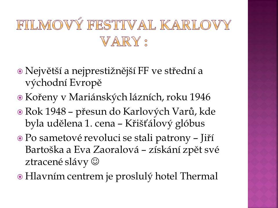 Filmový festival Karlovy Vary :