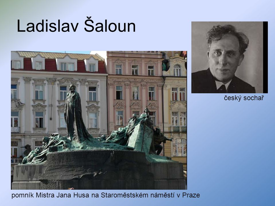 Ladislav Šaloun český sochař