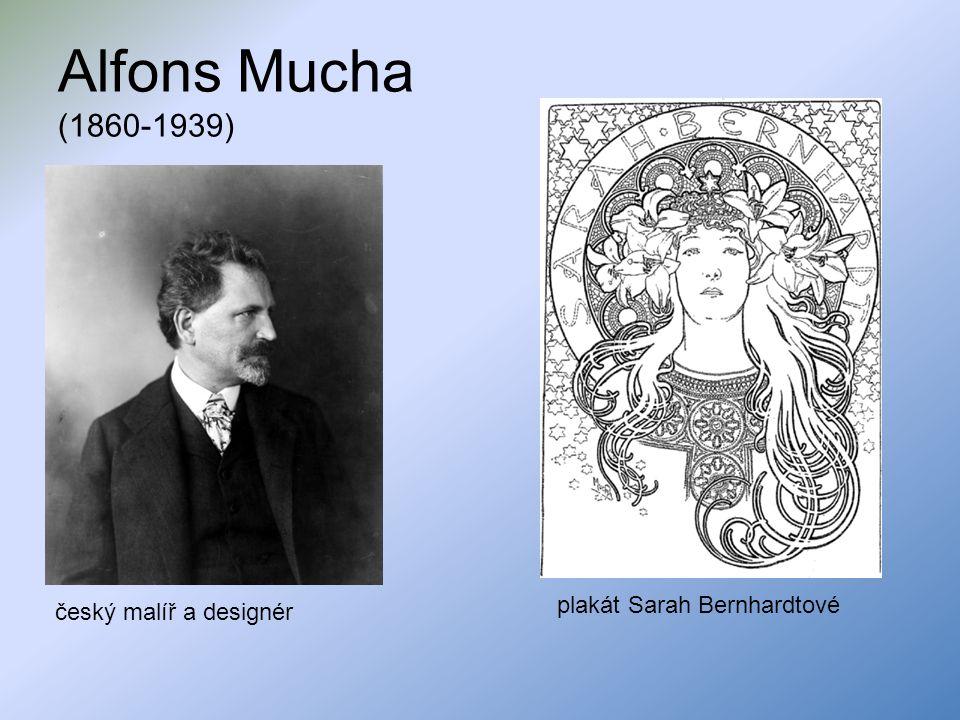 Alfons Mucha (1860-1939) plakát Sarah Bernhardtové