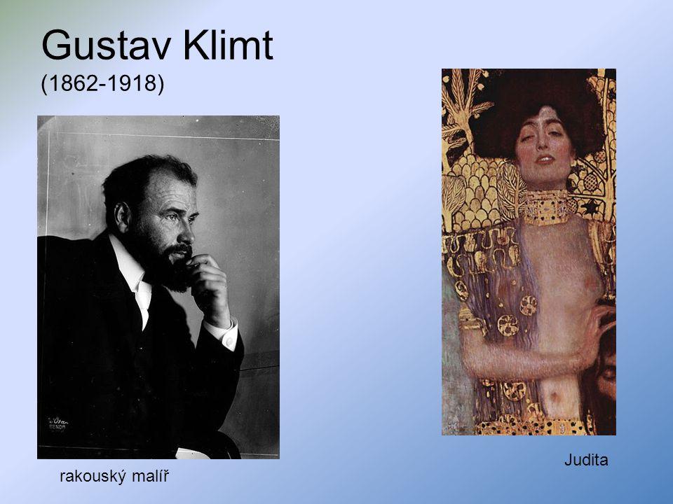 Gustav Klimt (1862-1918) Judita rakouský malíř