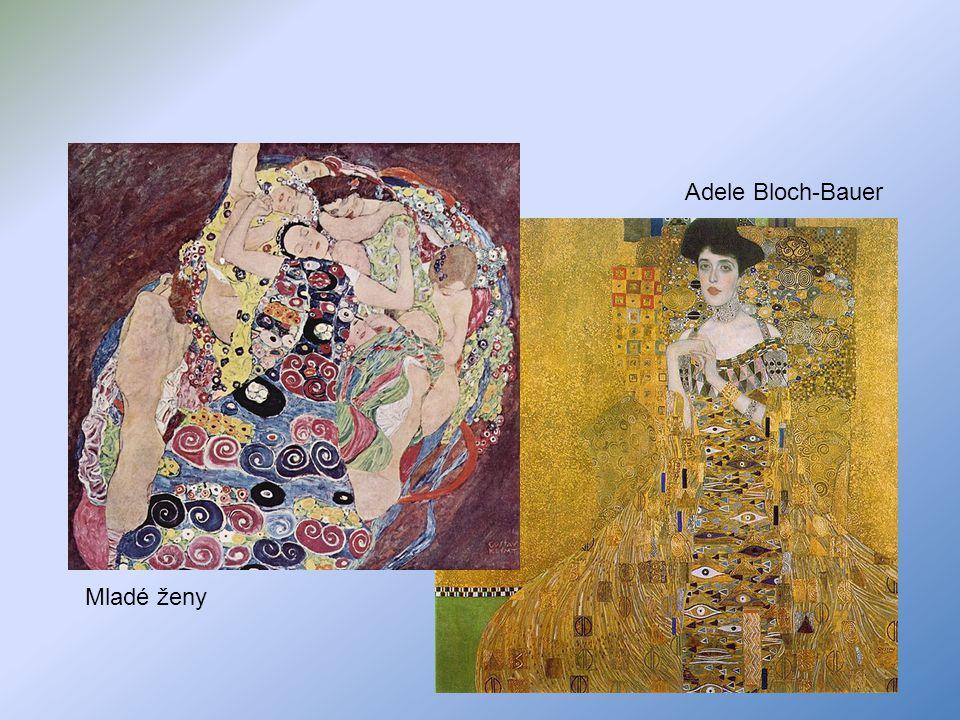 Adele Bloch-Bauer Mladé ženy
