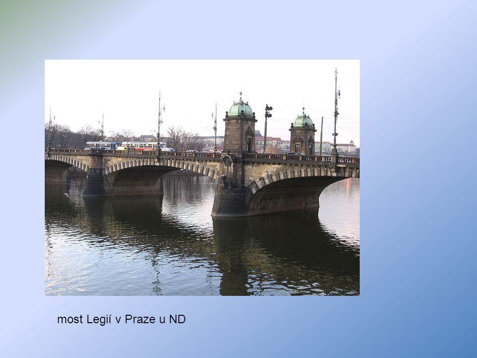 most Legií v Praze u ND