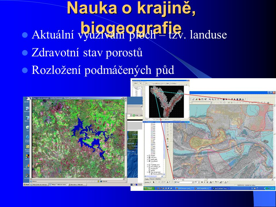 Nauka o krajině, biogeografie