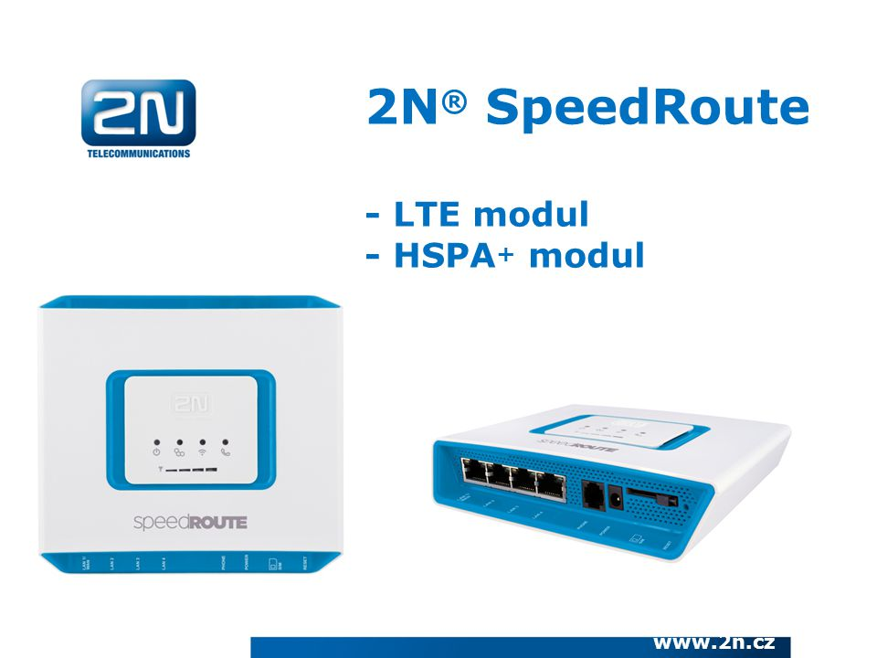 2N® SpeedRoute - LTE modul - HSPA+ modul