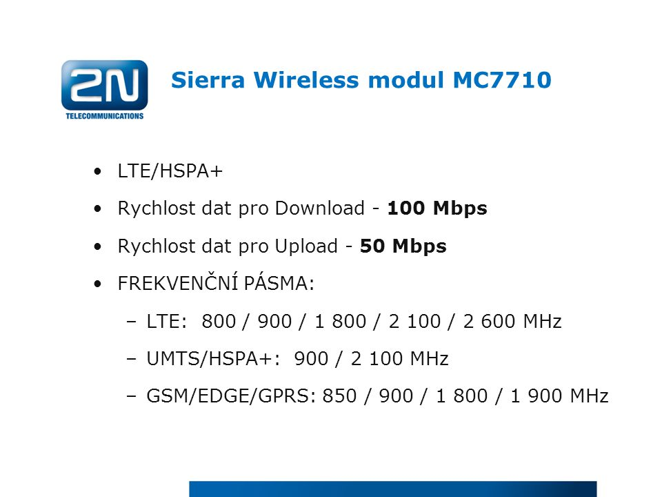 Sierra Wireless modul MC7710