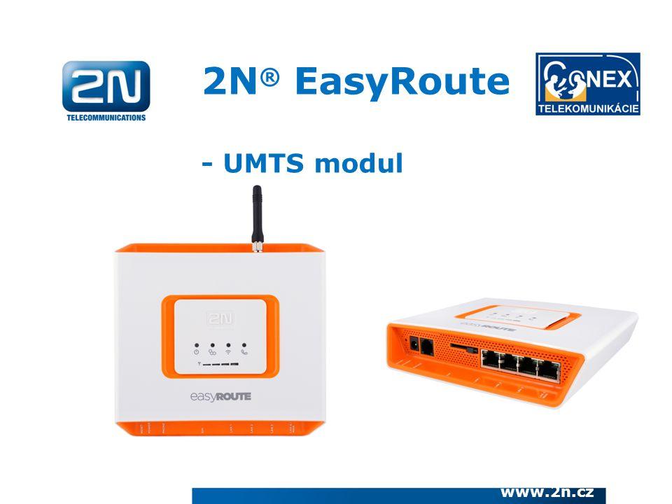 2N® EasyRoute - UMTS modul