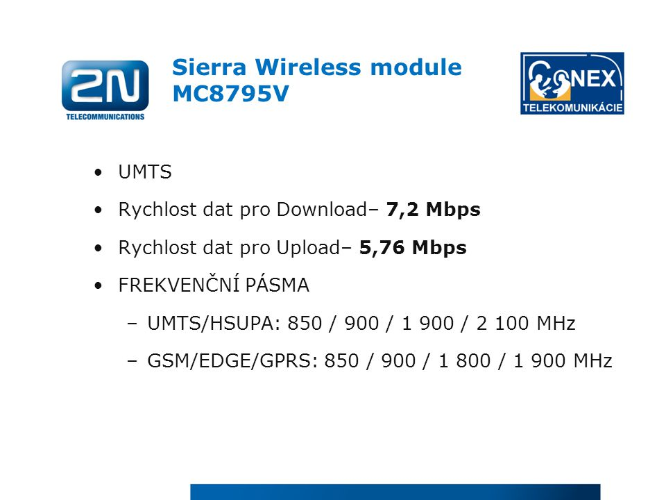 Sierra Wireless module MC8795V