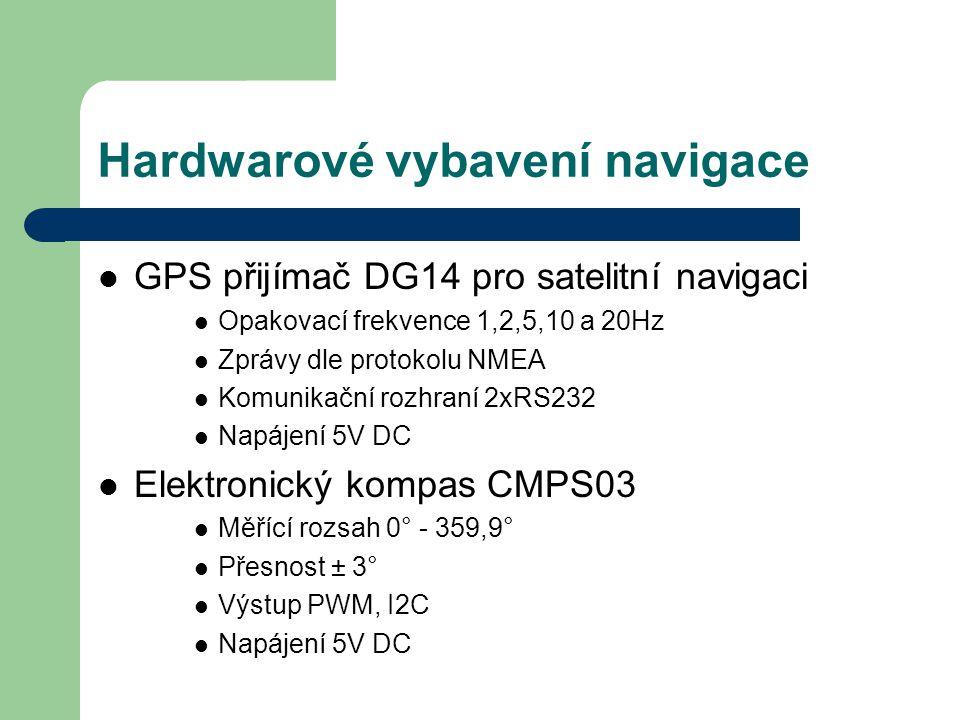 Hardwarové vybavení navigace