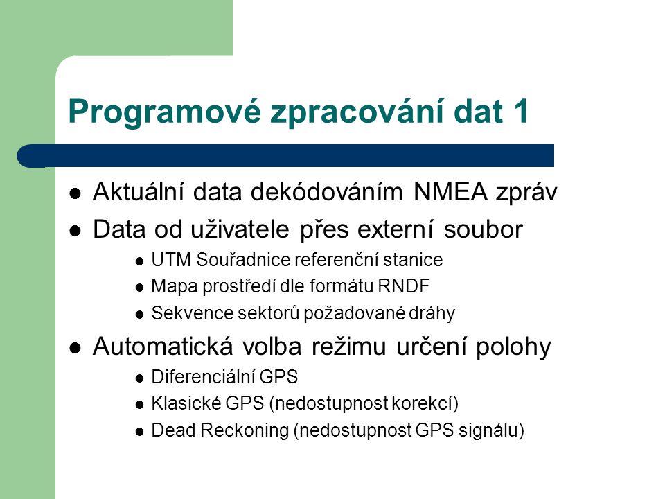 Programové zpracování dat 1