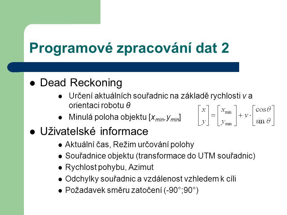 Programové zpracování dat 2