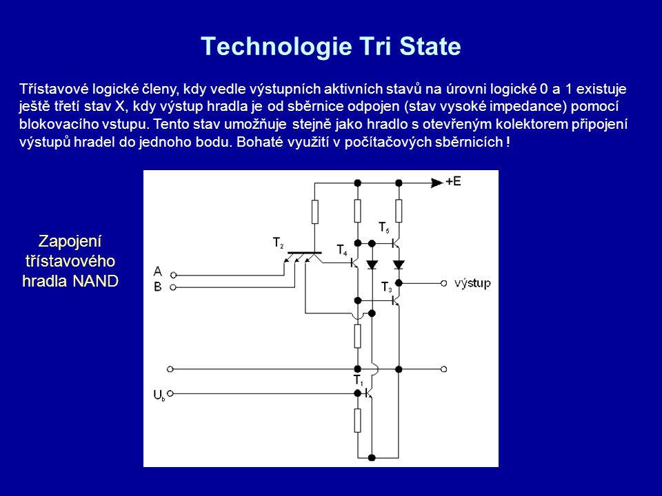 Zapojení třístavového hradla NAND