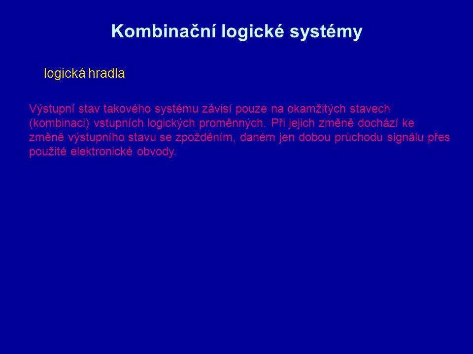 Kombinační logické systémy