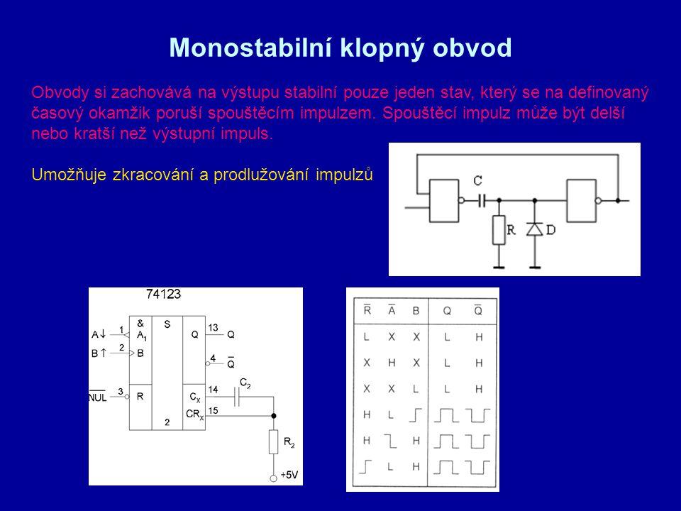 Monostabilní klopný obvod