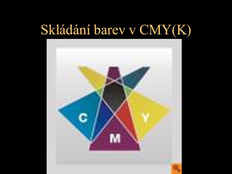 Skládání barev v CMY(K)