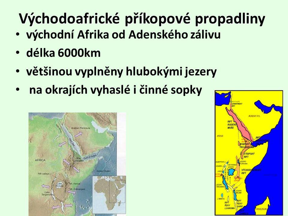 Východoafrické příkopové propadliny
