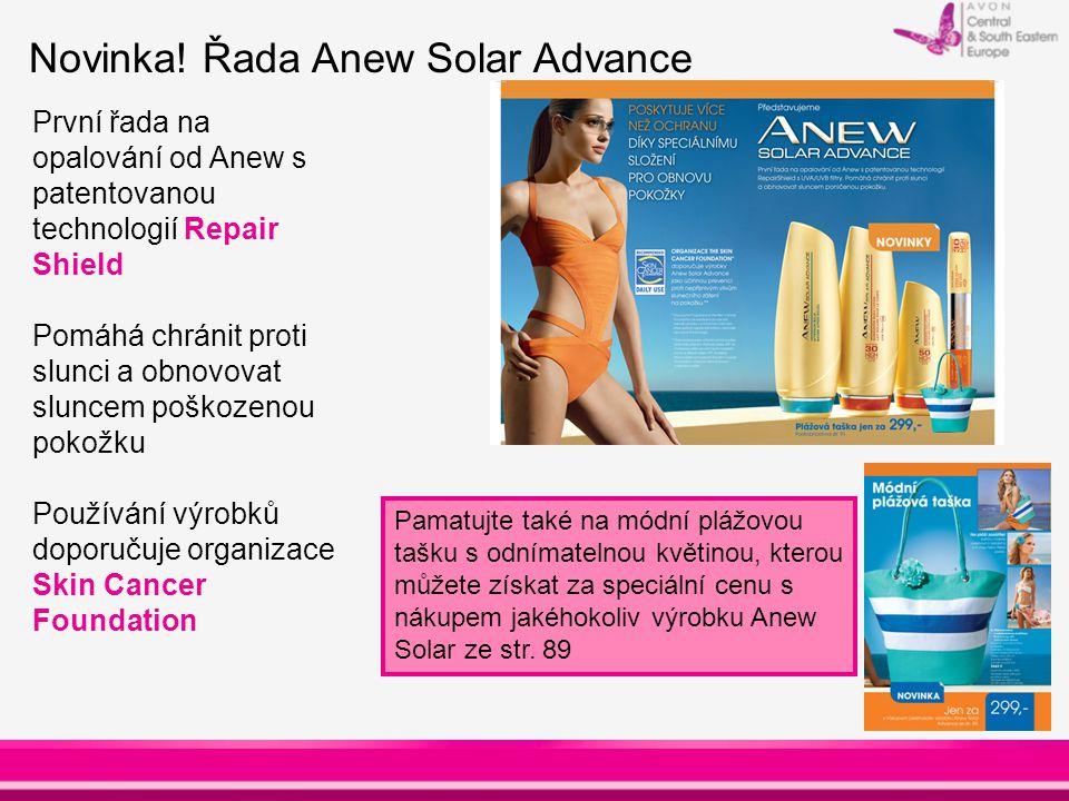 Novinka! Řada Anew Solar Advance