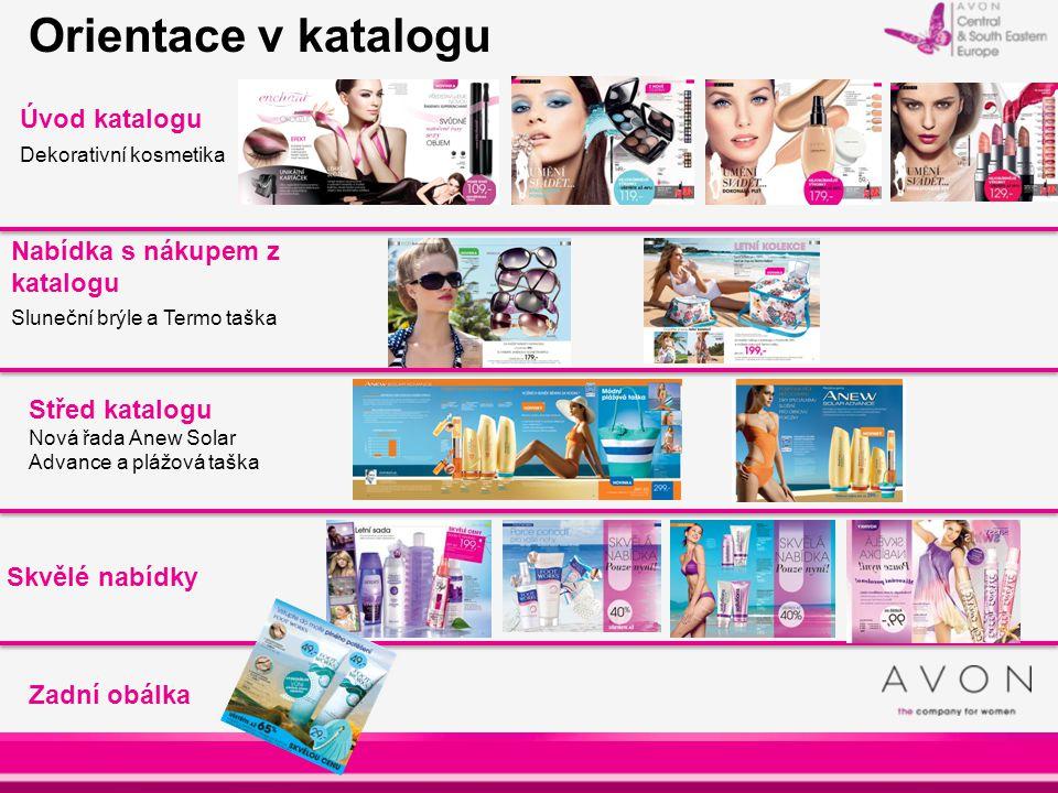 Orientace v katalogu Úvod katalogu Nabídka s nákupem z katalogu