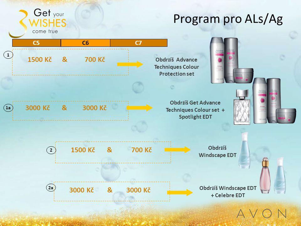 Program pro ALs/Ag 1500 Kč & 700 Kč 3000 Kč & 3000 Kč 1500 Kč & 700 Kč