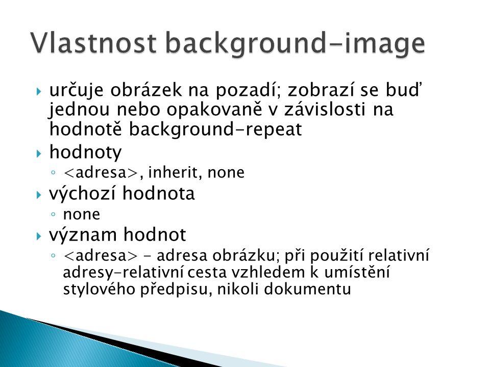 Vlastnost background-image