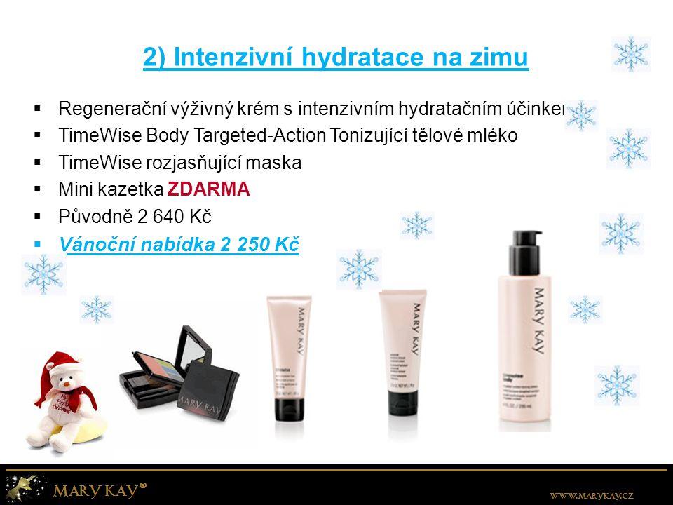 2) Intenzivní hydratace na zimu