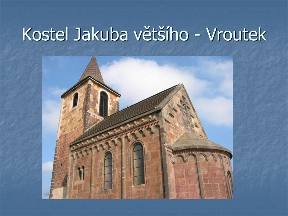 Kostel Jakuba většího - Vroutek