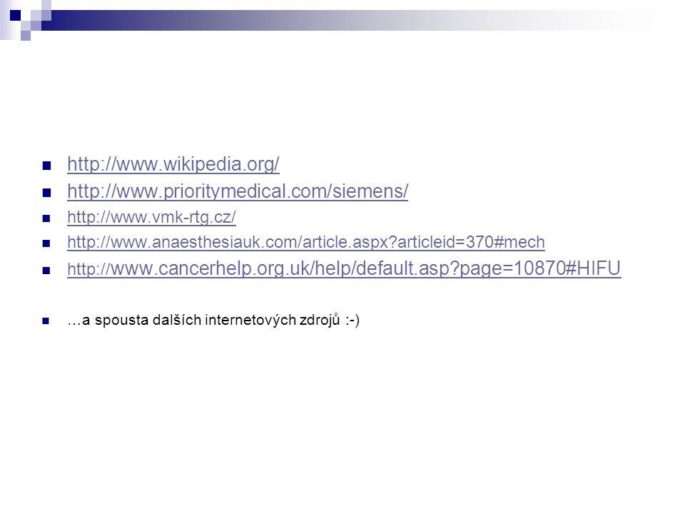 http://www.wikipedia.org/ http://www.prioritymedical.com/siemens/